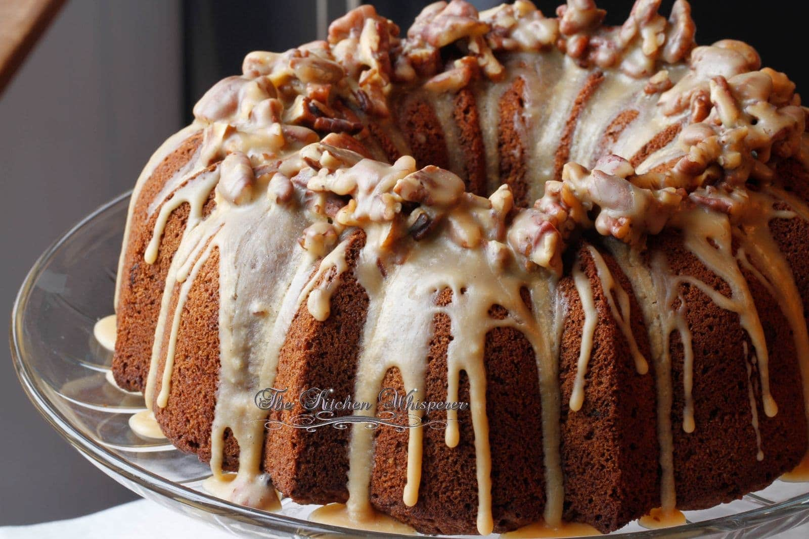 ... Countdown to Christmas 2014 Sticky Toffee Pudding Bourbon Bundt Cake