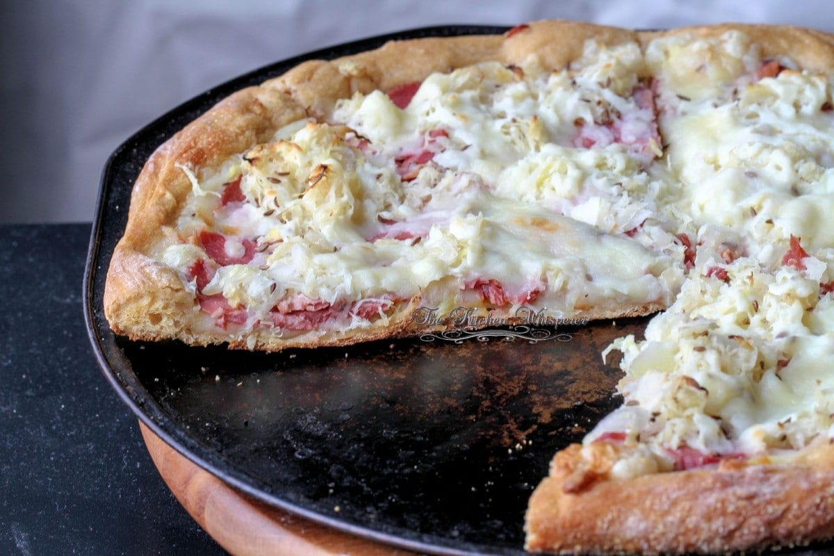 Guinness Reuben Pizza2