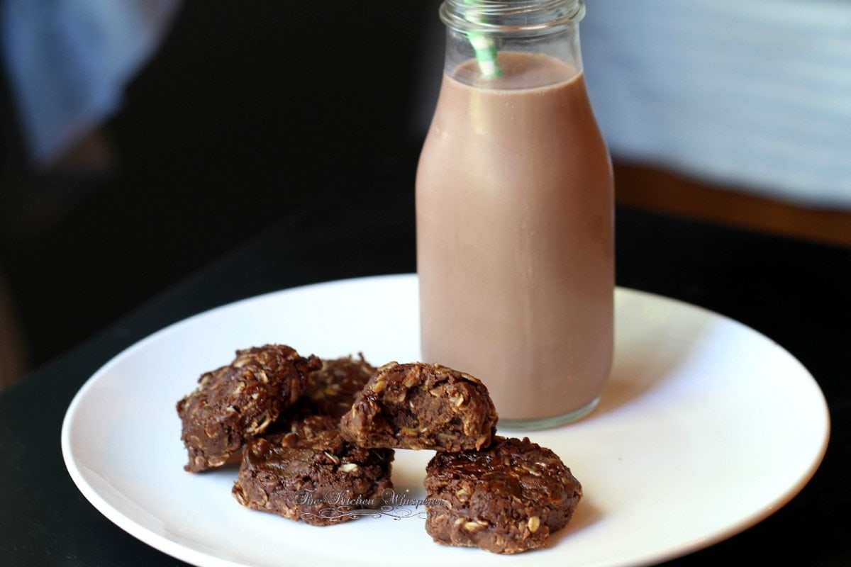 No Bake Chocolate Cookie Butter Cookies3