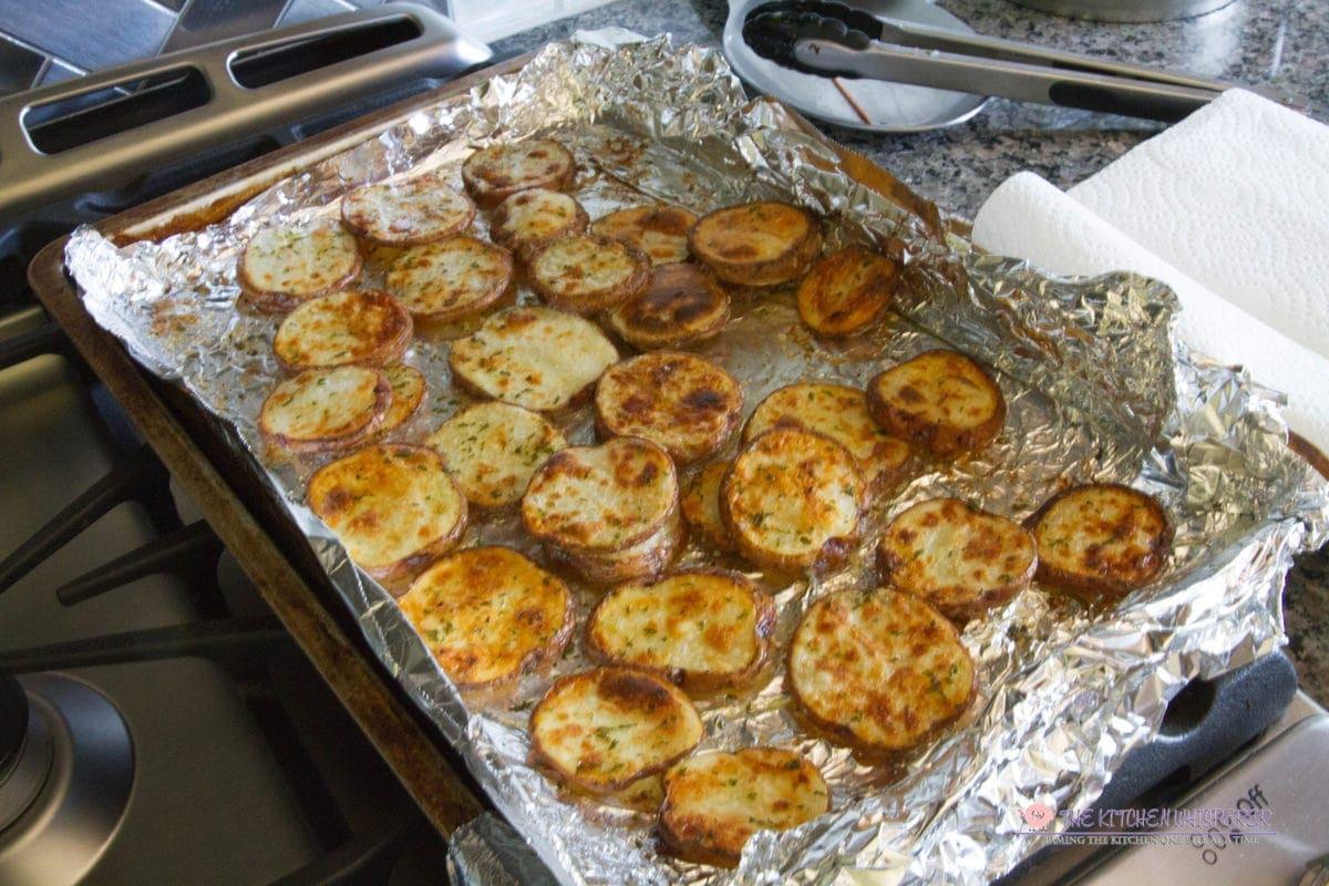 Crispy Skinny Seasoned Potatoes Dippers