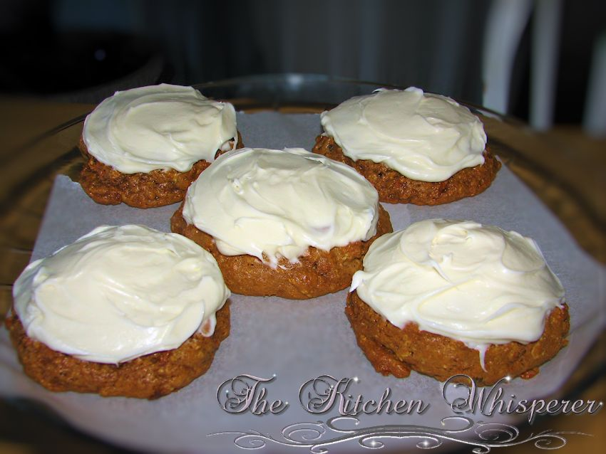 Cream Cheese Carrot Cake Cookies