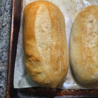 The Best Soft & Chewy Hoagie Bread Roll