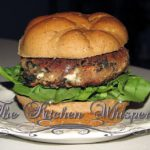 Pin to save these Double Bean Veggie Burger