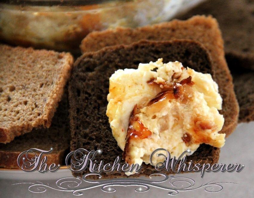 Caramelized Sweet Onion Jarlsberg Spread