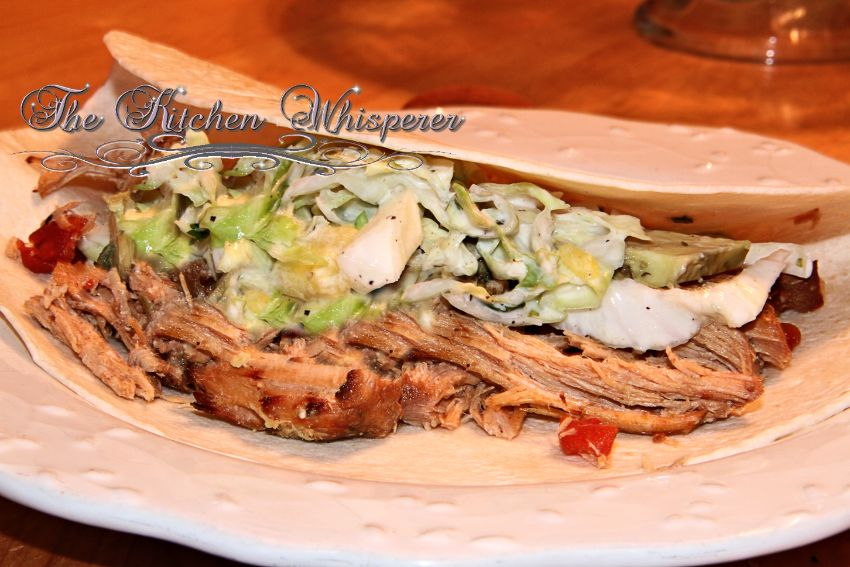 Carnitas with Creamy CLP Slaw1