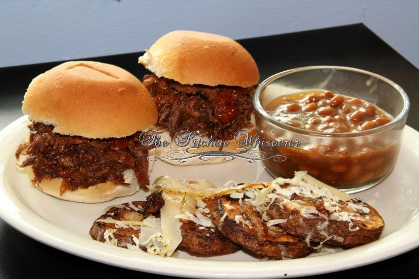 BBQ Boneless Beef Shortrib Sliders3
