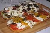 Pin to save this French Bread Garden Pizza