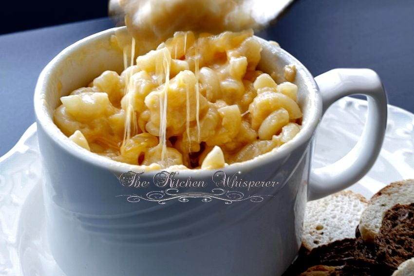 Creamy MacCheese For One4