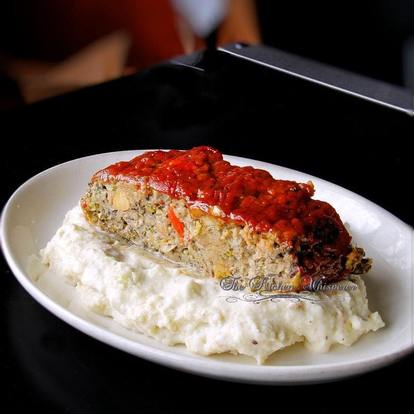 Ultimate Meatless Veggie Meatloaf