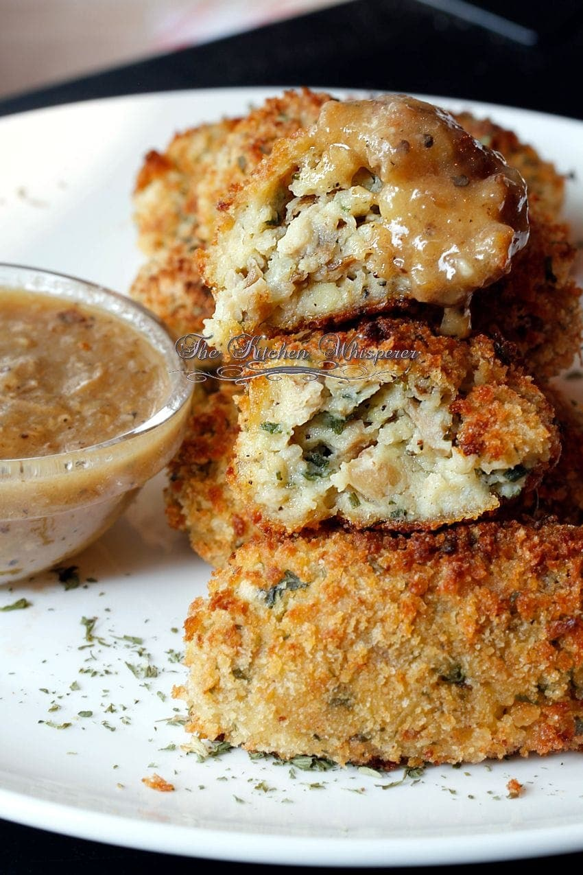Baked Chicken Croquettes9