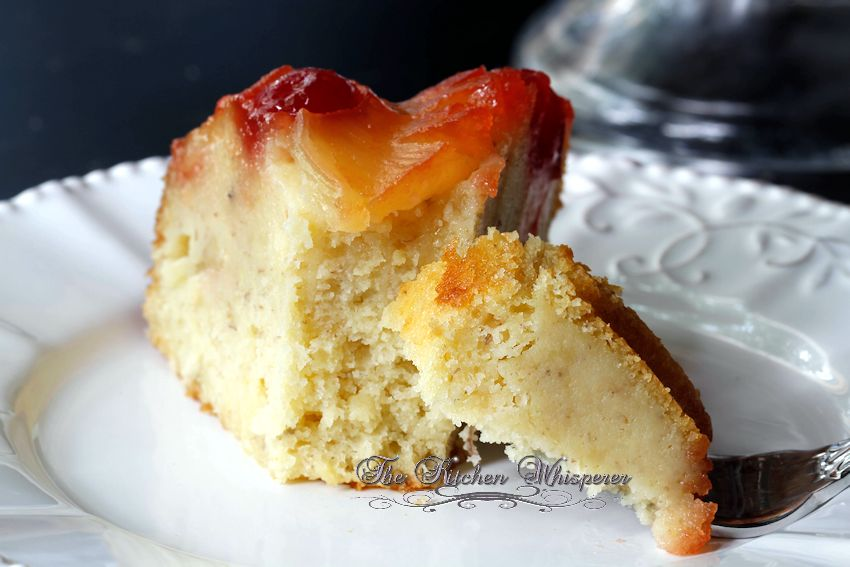 Pineapple Banana Upside Down Cake5