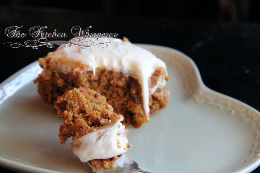 Pumpkin BTS Cake with Caramel and Whipped Cream Cheese Frosting3