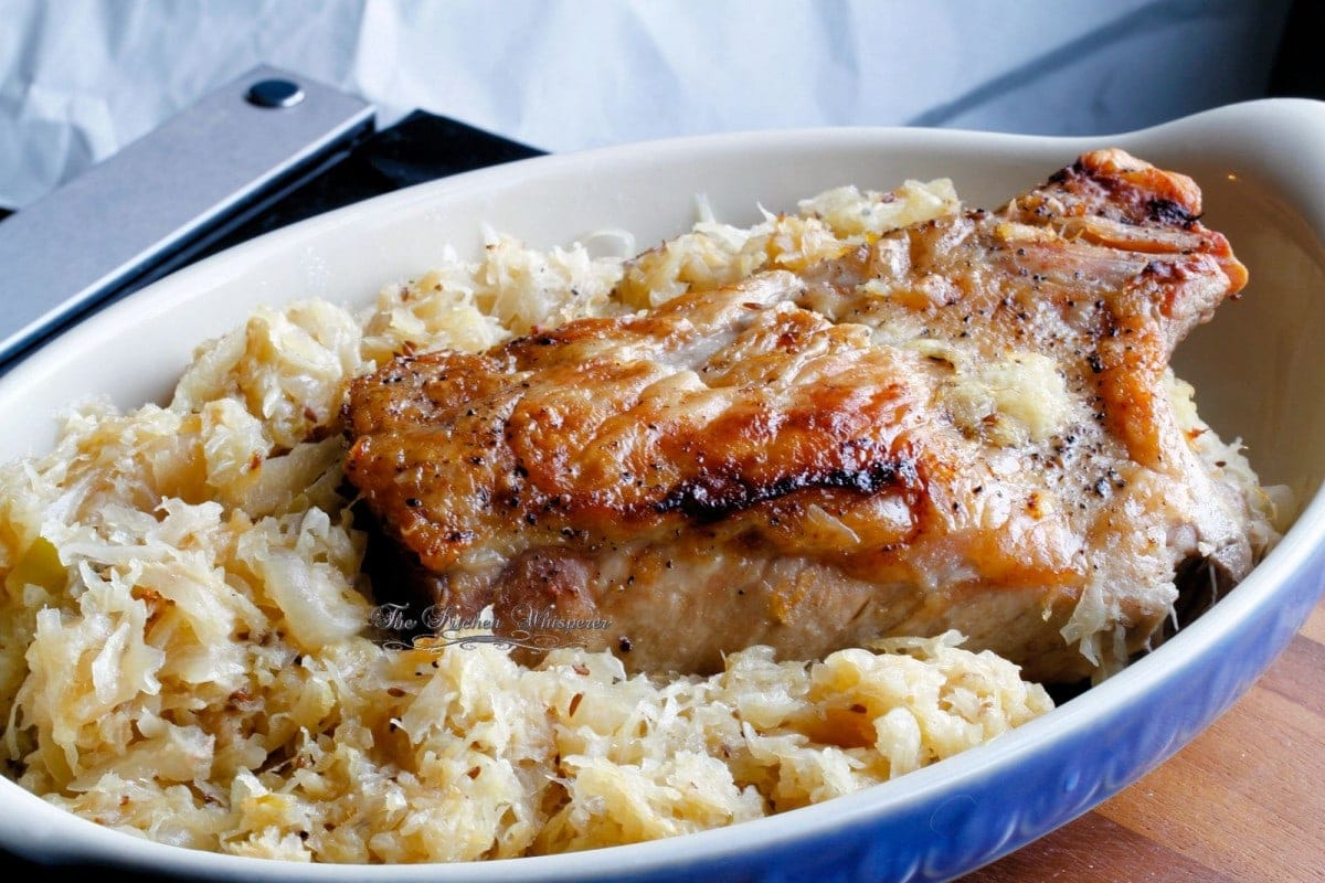 Best Ever Pork Roast and Sauerkraut recipe