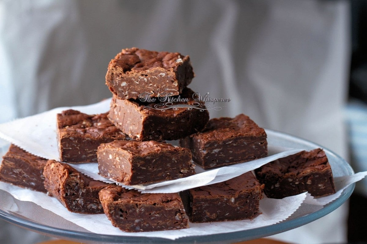 Coconut Flourless Brownies1