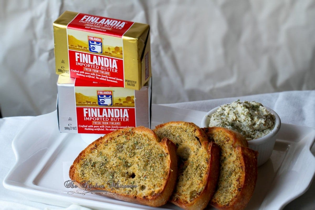 Finlandia Butter Garlic Bread Spread1