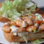 Pin to save this Creole Cajun Shrimp Po Boy recipe
