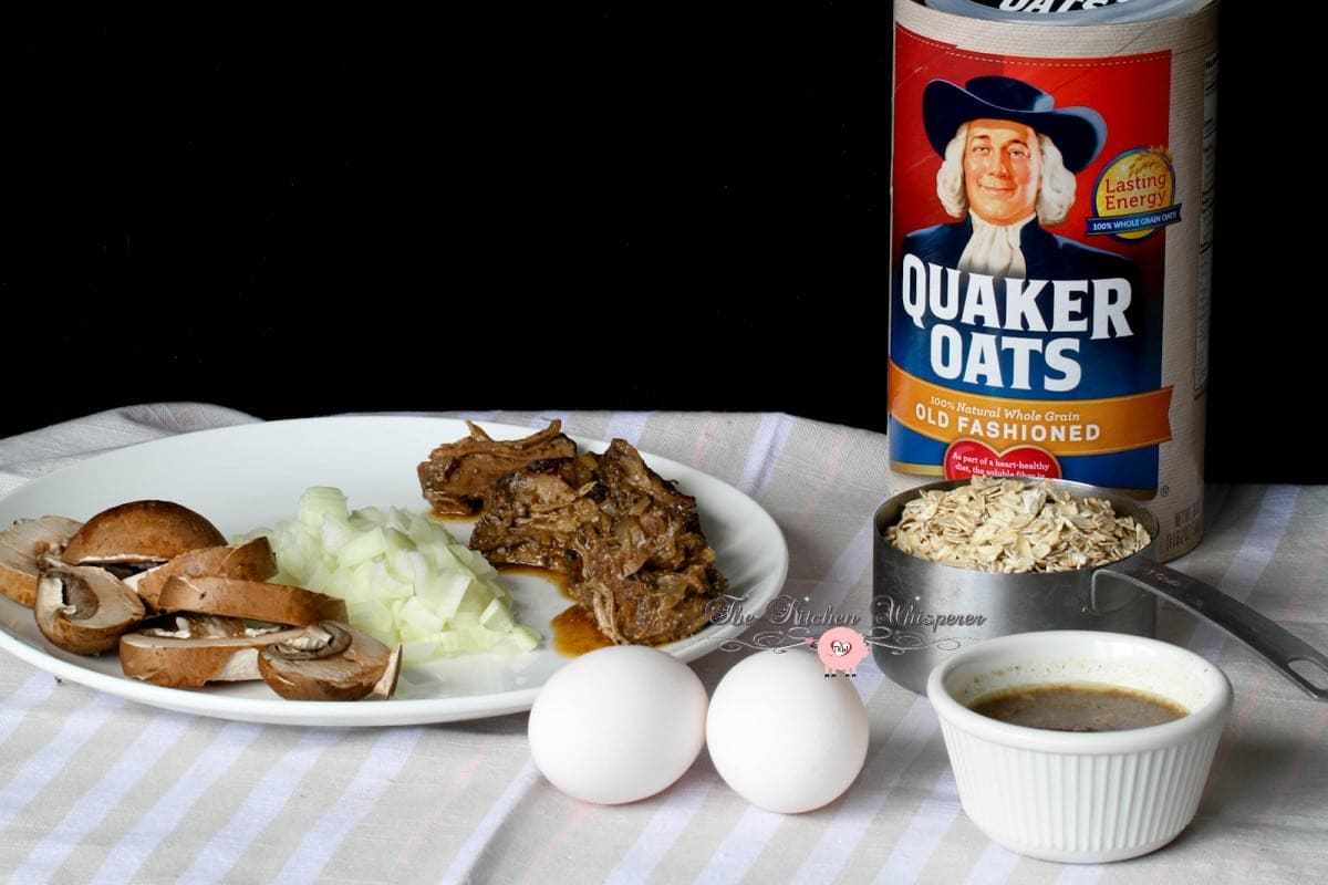 Savory Beef and Eggs Oatmeal