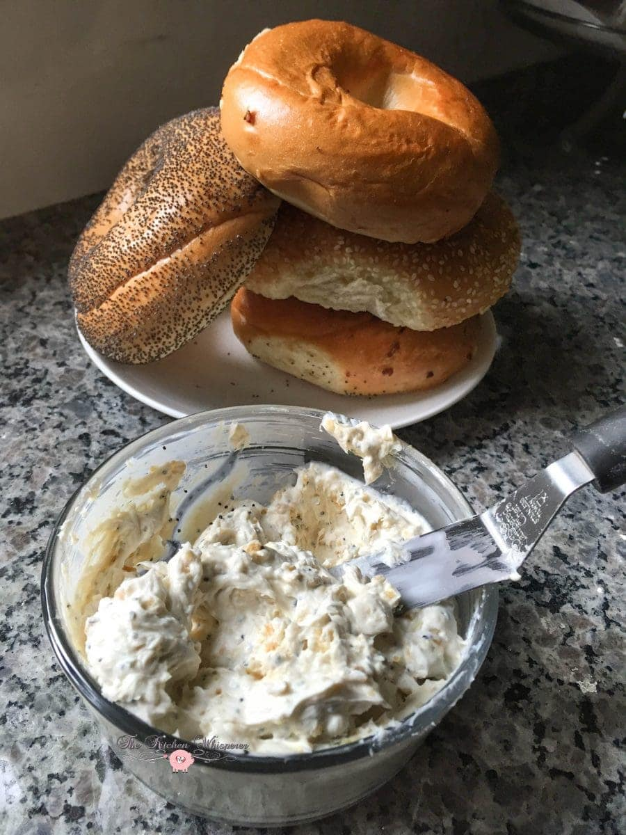 Everything Bagel CreamCheese1