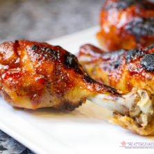 Pressure Cooker BBQ Jelly Drumsticks