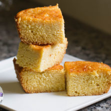 Sweet Honey Butter Buttermilk Cornbread