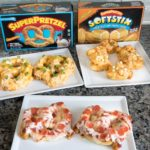 Game Day Pretzels - Buffalo Chicken, Cheesy Crab, Pepperoni Pizza Pretzels