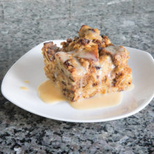 Orange Cranberry Decadent Bread Pudding