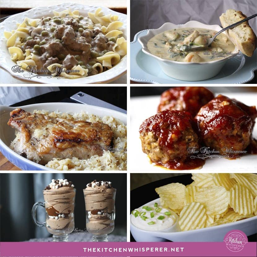 The perfect fall and winter comfort food recipes!
