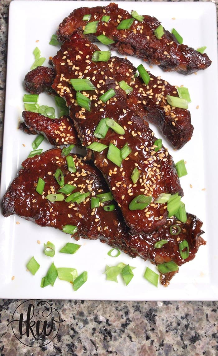 nstant Pot Korean Gochujang Sticky Boneless Beef