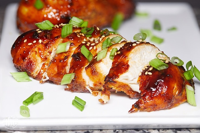 Instant Pot Korean Gochujang Sticky Chicken Breast