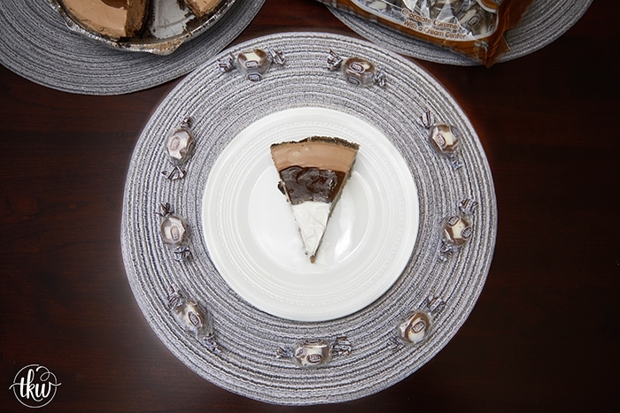 Pin to save this Creamy, Dreamy and Decadent Frozen Chocolate Caramel Pie recipe!