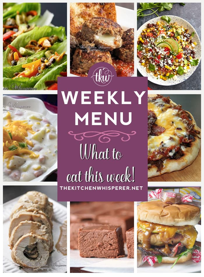 These Weekly Menu recipes allow you to get out of that same ol' recipe rut and try some delicious and easy dishes! This week I highly recommend making the BBQ Beef Shortrib & Bacon Pizza, the Creamy Ham, Potato and Corn Chowder and the Ultimate Easy Creamy Chocolate Fudge!
