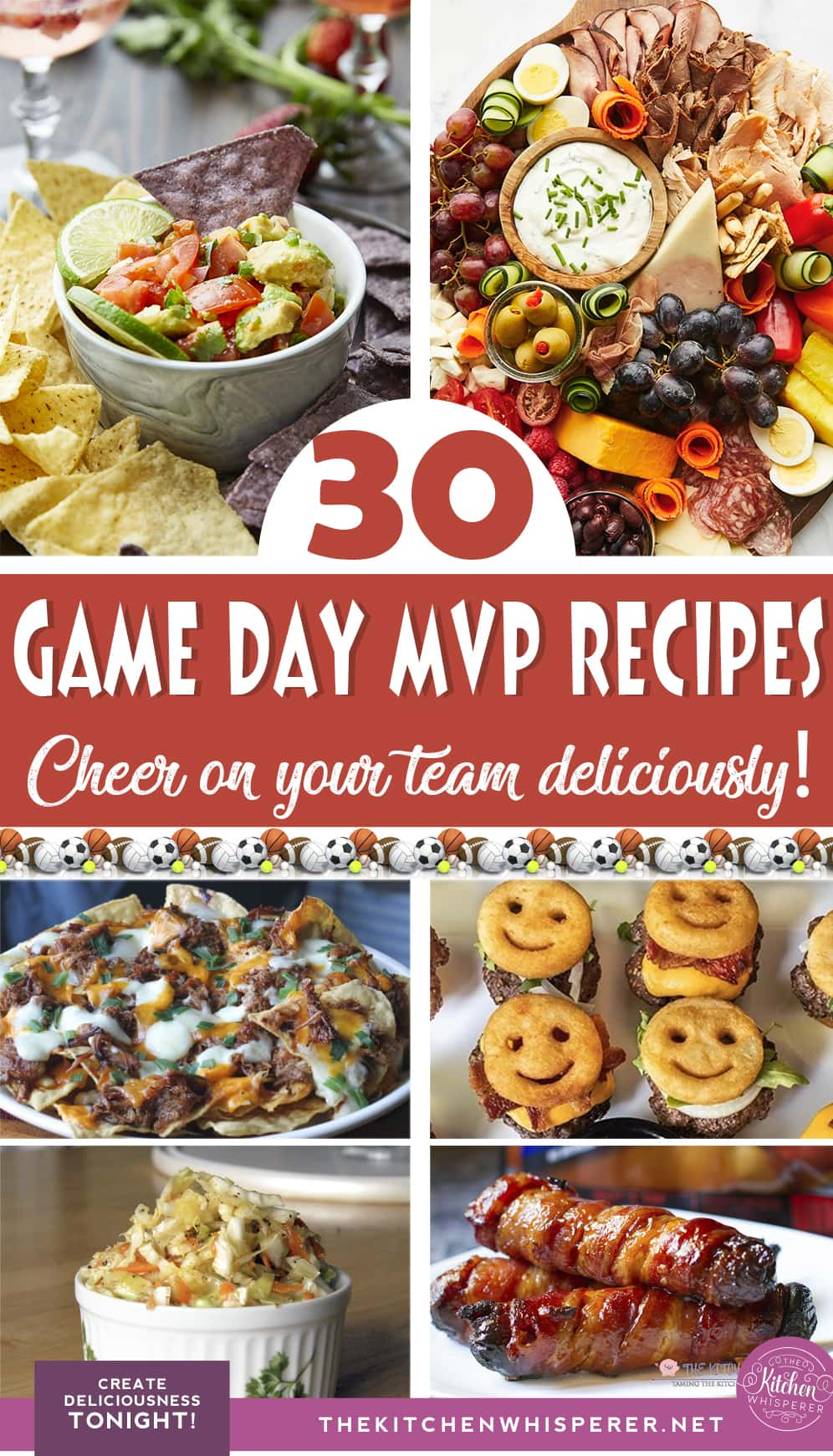 A collection of 30 game day recipes to make you the MVP of the food game.