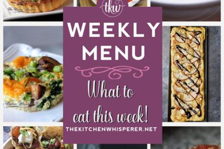 Weekly Menu 11-29-20