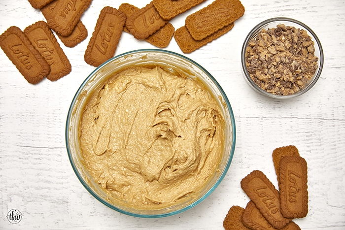 Biscoff Cookie Butter Cheesecake Dip