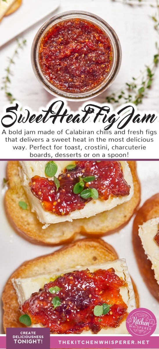 Sweet & Spicy Fig Calabrian Chili Jam