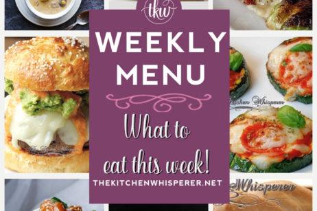 weekly menu 7-18-21