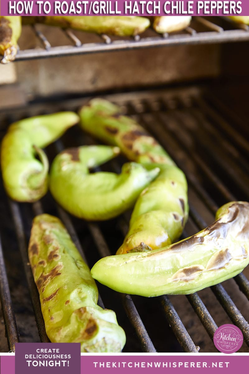 Roasted Hatch Chile Peppers